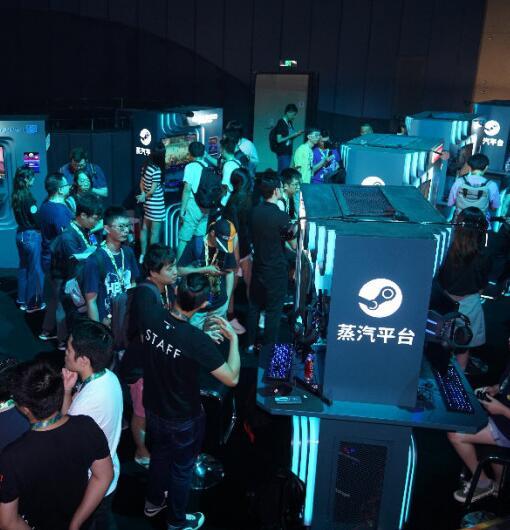 """Steam中国版命名""""蒸汽平台""""即将推出:60款游戏亮相上海试玩会"""